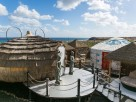 2 Bedroom Eco Beach Yurt in Canary Islands, Lanzarote, Arrieta