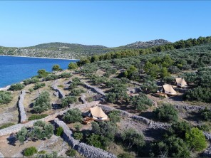 Glamping Tents by the Sea in the Kornati Islands, Dalmatia, Croatia