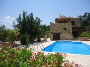 4 Bedroom Rural Villa with Private Pool in Cyprus, Paphos Region, Lycos Polis