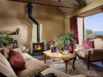 Interior and log burner