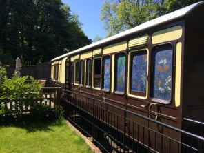 1 Bedroom Fully Accessible Restored Train Carriage in St Germans, Cornwall, England