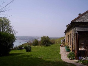Off Grid 3 Bedroom Stone House with Sea Views near Looe, South Cornwall, England