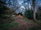 1 Bedroom Riverside Log Cabin with Private Hot Tub in Lake District Woodland, Cumbria, England