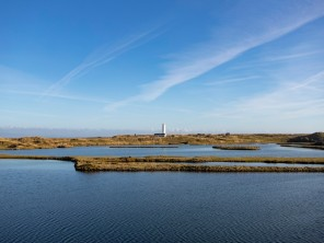 1 Bedroom Lighthouse Hideaway with Sea Views in Walney Island Nature Reserve, Cumbria, England