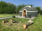 Yurt Glampsite with Hot Tub near Anslow, Staffordshire, England
