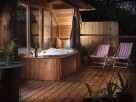 2 Bedroom Treehouse with Outdoor Jacuzzi in Secluded Woodland near Bratton Clovelly, Devon, England