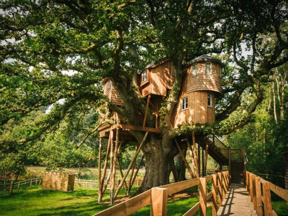 Luxury Family Friendly Treehouse Hideaway Eggesford Devon