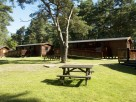 Self catering lodges in New Forest Woodland, England, Hampshire, Bransgore