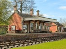 2 /3 Bedroom Rural Victorian Railway Station Conversion in Bredenbury near Bromyard, Herefordshire