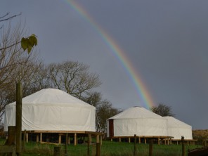 Family Friendly Glamping in Themed Yurts near Newport, Isle of Wight