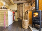 Kitchen and wood burner