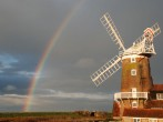 Rainbow over the mill
