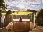Hillside Hot tub