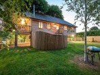 Apple Tree House and hot tub