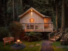 Luxury Romantic Treehouse for Two on an Organic Farm near Crewkerne, Somerset, England
