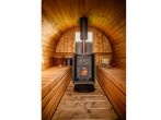 Wood fired sauna
