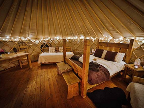 Blackberry Yurt