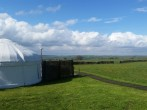 Yurt and views