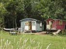 2 Bedroom Stylish Gypsy Caravan in England, Suffolk, Nr Woodbridge