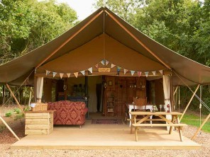 Fairy Flax Luxury Lodge Tent for 6 near Woodbridge, Suffolk, England
