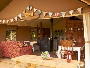 Speedwell Luxury Lodge Tent for 6 near Woodbridge, Suffolk, England