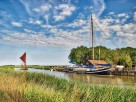 3 Bedroom Historic Sailing Barge at Snape Maltings on the River Alde near Aldeburgh, Suffolk, England