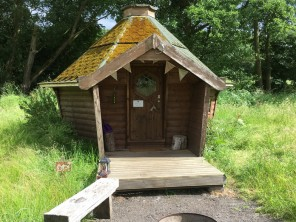 Double Eco Pod DP1 in Manor House Grounds, North Yorkshire Moors, Yorkshire, England