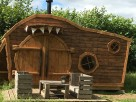 Hobbit House BT2 in Manor House Grounds, North Yorkshire Moors, Yorkshire, England