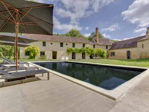 6 Bedroom Millhouse with Pool on a Private Island near Bergerac, Dordogne, France