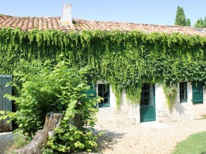 3 Bedroom Converted Bakery on a Cognac Estate with Pool, Golf & Tennis near Aubeterre, Nouvelle Aquitaine, France