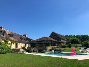 6 Bedroom Estate with Swimming Pool and Garden in Sainte Croix, Nouvelle Aquitaine, France
