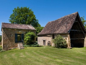1 Bedroom Rural Stone Cottage in Sainte Croix, Dordogne, Nouvelle Aquitaine, France