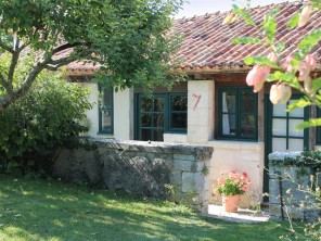 1 Bedroom Stone Cottage on an Estate with Golf, Tennis & Swimming nr Aubeterre, Nouvelle Aquitaine, France