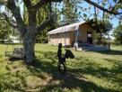 Six B&B Safari Tents with Pool in a Rural Location near Bergerac, Nouvelle Aquitaine, France