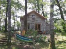 1 Bedroom Lakeside Cabin in France, Nouvelle Aquitaine, Piegut-Pluviers
