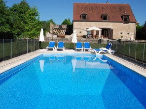 5 Bedroom Barn Conversion in France, Burgundy, Moulins Engilbert