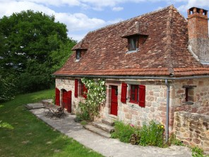 2 Bedroom Traditional Cottage in France, Nouvelle-Aquitaine, Beaulieu sur Dordogne