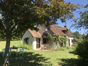 2 Bedroom Rural House in Sainte-Sévère-sur-Indre, Centre-Val de Loire, France