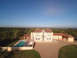 4 Bedroom Chateau with Pool near Marciac, Midi-Pyrenees, France