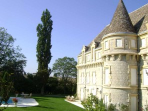8 Bedroom Stylish Chateau with Pool & Tennis Court in Castelsagrat, Midi-Pyrenees, France
