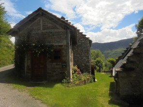 2 Bedroom Mountain Cottage in Miramont, near Oust, Ariege, Midi-Pyrenees, France