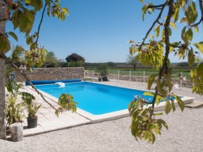 2 Bedroom Restored Gite in a Former Priory near Jarnac, Charente, France