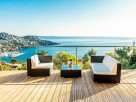 3 Bedroom Seaview Villa in France, Provence-Cote d`Azur, Cannes