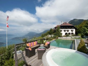 14 Bedroom Lake View Chalet in France, Rhone Alps, Annecy