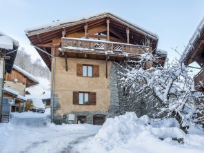 6 Bedroom Converted Farmhouse Ski Chalet with Mont Blanc Views in La Plagne, Rhone Alps, France