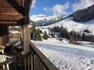 3 Bedroom Ski In Ski Out 100 year old Chalet alongside the piste in Espace Diamant, Rhone Alps, France