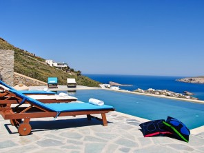 6 Bedroom Luxury Seaview Villa with Pool in Mykonos, Greece