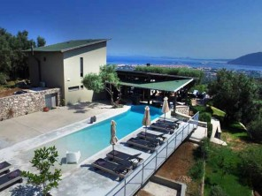 3 Bedroom Designer Hilltop Villa with Pool on Lefkada, Ionian Islands, Greece