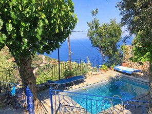 3 Bedroom Stone House with Sea Views in the Peloponnese, Greece