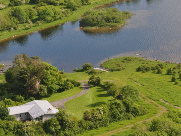 Aerial view of Ballycurrin